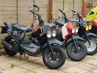 HONDA ZOOMER 50cc UK BATTLE SCOOTER