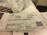 Royal Opera House Ballet tickets to sell!