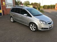 2006 Vauxhall Zafira sri 1.9 Cdti 150 7 seater 12 months mot/3 months parts and labour warranty