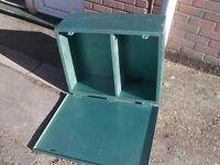 Large Metal Strongbox Safe
