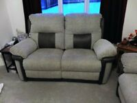 Beat DFS sale Orion 3 Seater and 2 Seater Manual Recliners