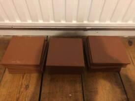 Dorset woolliscroft unglazed ceramic floor tiles x 30