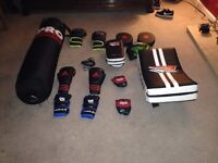 MMA/BOXING equipment.