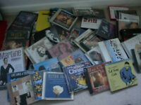 approx 36 cd`s and 8 dvd`s