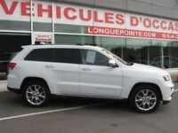 2015 Jeep Grand Cherokee Summit toit ouvrant intérieur tabac mag