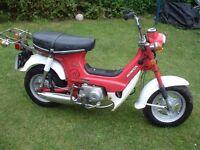 1976 honda cf70 chaly mini bike