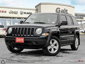 2011 Jeep Patriot NORTH | HEATED MIRRORS | ALLOYS | JUST TRADED