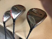 Three golf clubs for sale