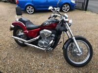 1996 HONDA SHADOW 600 RED LOW MILEAGE