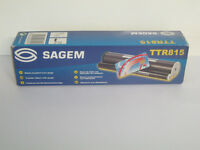 NEW UNUSED BOXED Sagem TTR815 transfer ribbon with gauge