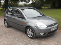 2002 FORD FIESTA ZETEC 1.4, MOT MAY 2017, ONLY 37,000 MILES, ONLY £1,195