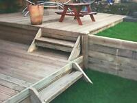 Decking & fencing ...enhance your garden and get ready for summer !
