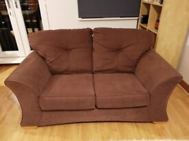 Comfortable two seater sofa