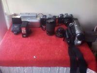 Camera and camcorder
