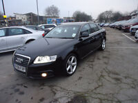 58 PLATE AUDI A6 FULLY LODE TOP CONDITION PERFECT CAR ONLY 64K 12 M MOT 6 M NATIONWIDE WARRANTY
