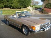1984 Mercedes 280SL Rare Manual £9495
