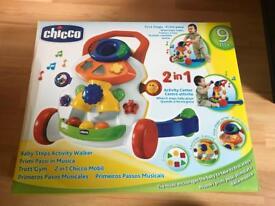 Chicco baby walker 2 in1