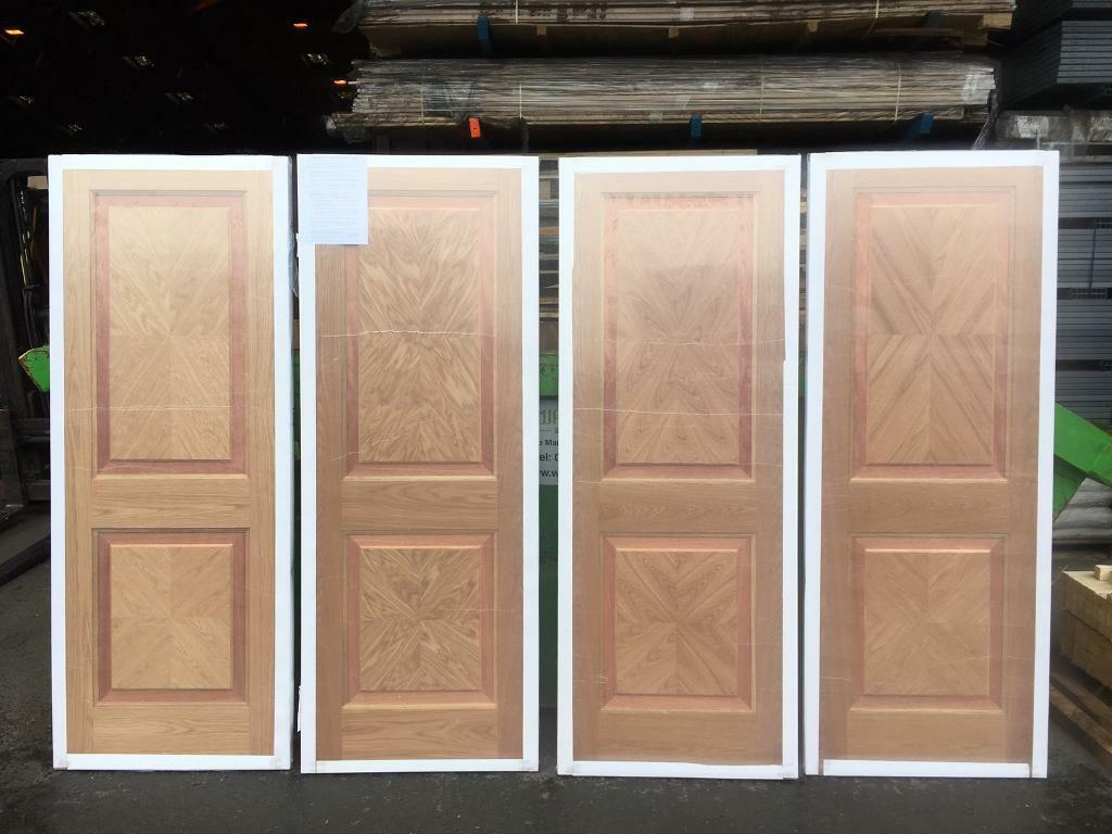 Clearance sale on pre finished internal oak Rhodes doors