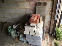 Free building materials; bricks, hardcore etc