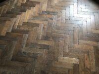 Broadleaf Timber Dark Vintage Oak Parquet Flooring (blocks c. 2 sq/m)