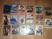 47 x dvds ( 21 sealed ) band of brothers it crowd fawlty towers summer wine how i met your mother