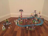 Lego Friends Amusement Park and Space Ride