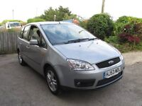 Ford Focus C-Max 2.0 TDCi Ghia 5dr 12Mot Low millage Full sevice 6speed