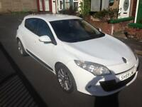 2010 59reg Renault Megane 1.6 Petrol White 5 Door Good Runner