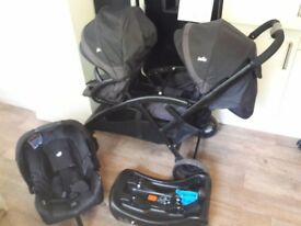 Joie duo with car seat and Base
