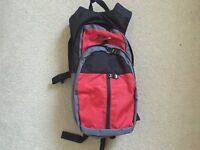 Compact slimline rucksack backpack bag bike cycle