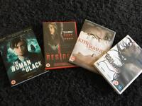 Selection of horror movies