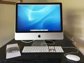 "Apple iMac 24"" Intel Core 2 Duo 2GB RAM/320GB HDD"
