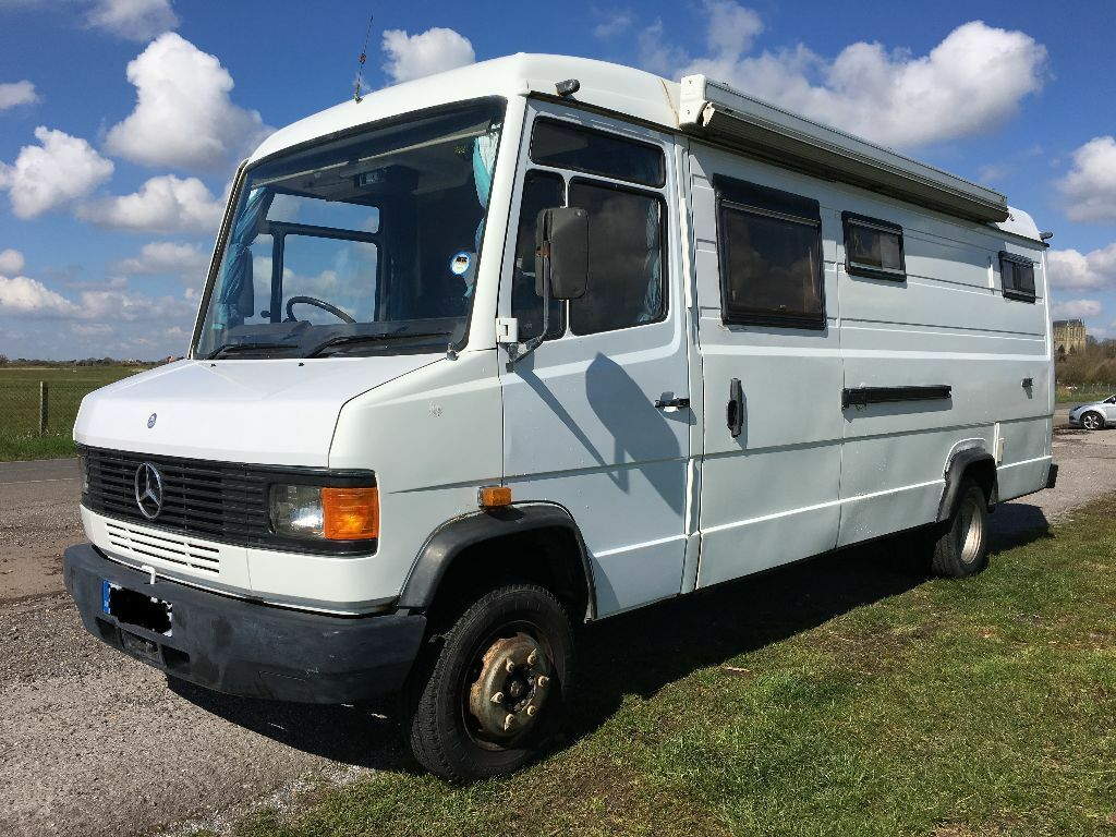mercedes 609d long wheel base camper van conversion in