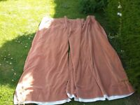Pair of Eversosure Washable Velvet Ready Made Curtains