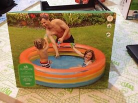 Brand New In Box Outdoor swimming and paddling pool