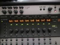 Digi 002 Interface mixer