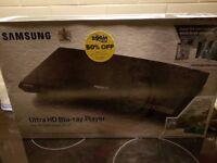 New Samsung Ultra HD Blu-ray Player, UBM-M9000