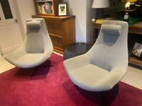 Classic Modernist Lounge Chairs