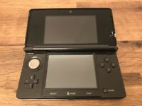 Black Nintendo 3DS complete with charger, case and 6 games.