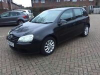 2007 VOLKSWAGEN GOLF 1.9 TDI MATCH MANUAL 5 DOOR HATCHBACK DIESEL
