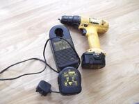 12 V DeWALT cordless drill/screwdriver