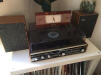 Vintage stereo sound vinyl record player - good condition