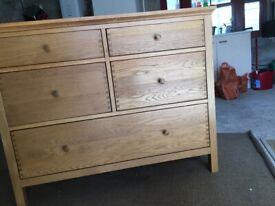 Solid Wood Drawers - ex John Lewis - Light Oak