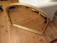 Mirror, John Lewis, over mantle