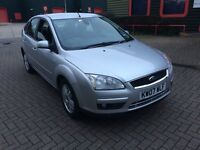 FORD FOCUS 07 2.0TDCI GHIA. SILVER. EXC. CONDITION. MANY EXTRAS