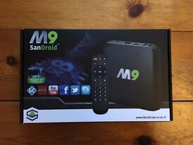 M9 Android TV Box 2/8GB Full of Apps
