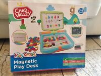 Chad Valley PlaySmart Magnetic Learning Play Desk_like new