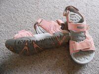 Hi Tec sandals size 3