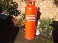 gas bottle full calor 47 kg propane gas