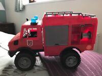 3 bruder toy trucks